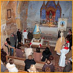 Video: La Virgen de la Aliaga en Josa. 2012