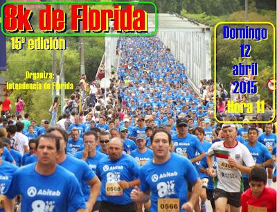 8k de Florida (15ª ed., dom 12/abr/2015)