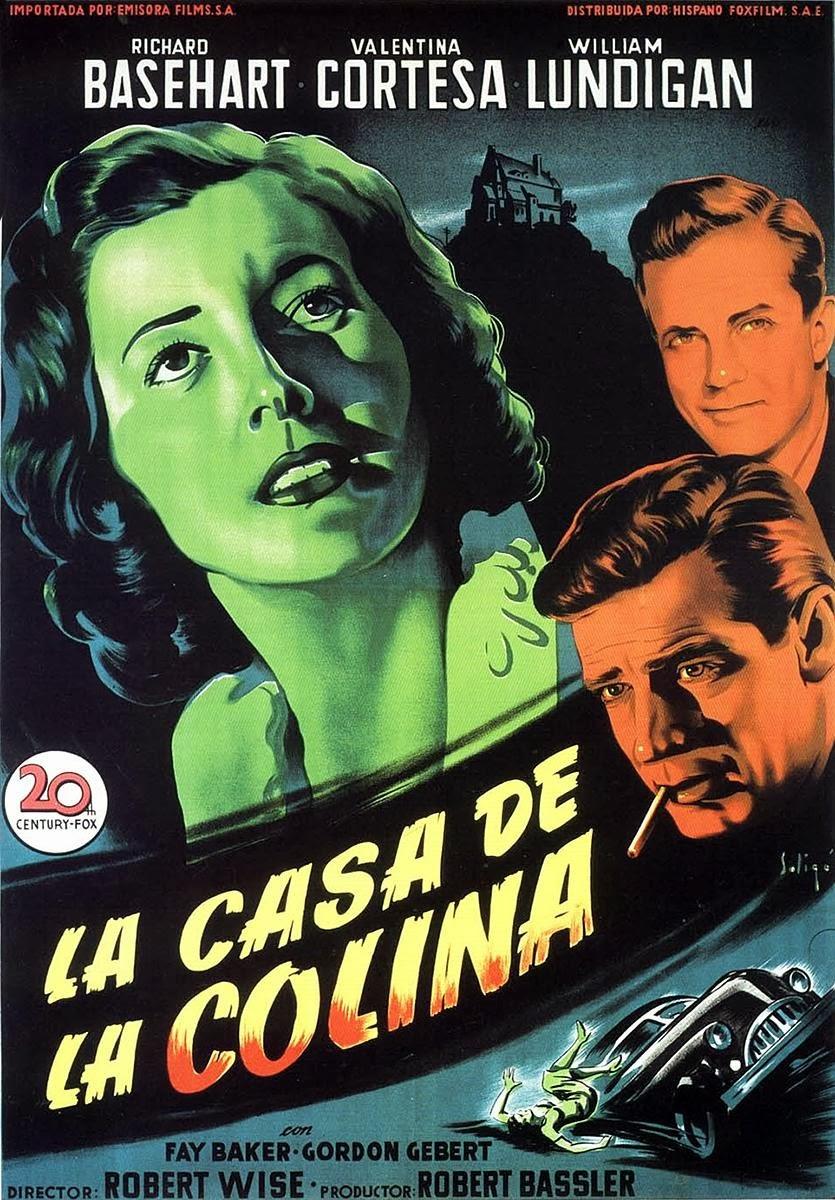 La casa de la colina | 1951 | The House on Telegraph Hill | Descargacineclasico.net