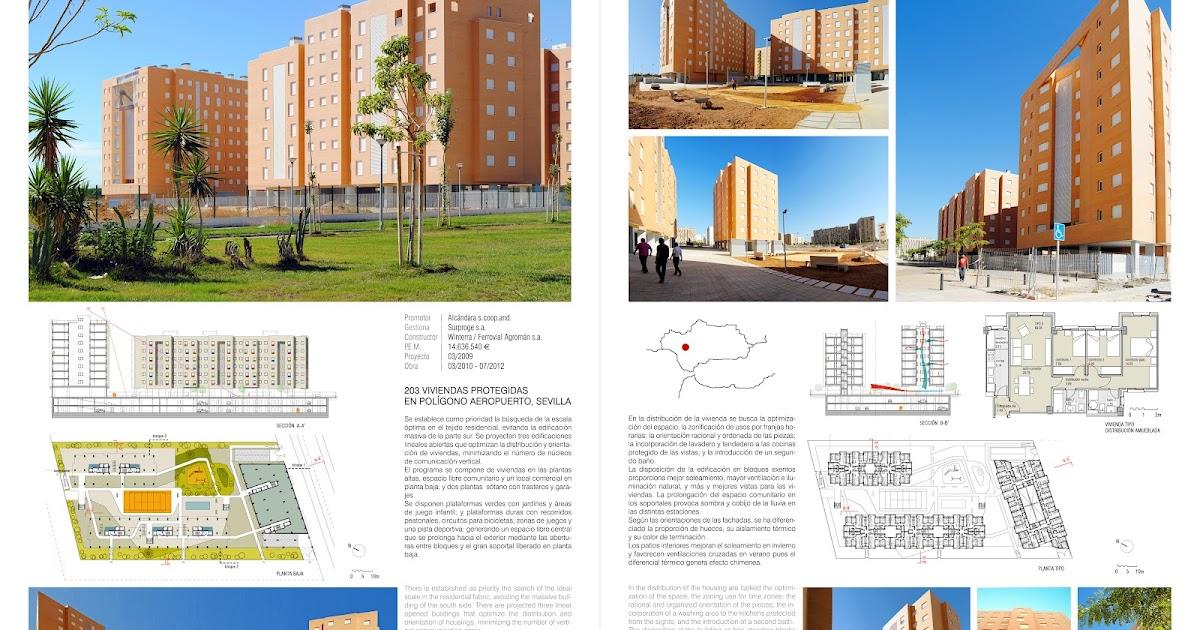 203 viviendas protegidas en pol gono aeropuerto sevilla - Estudios de arquitectura sevilla ...