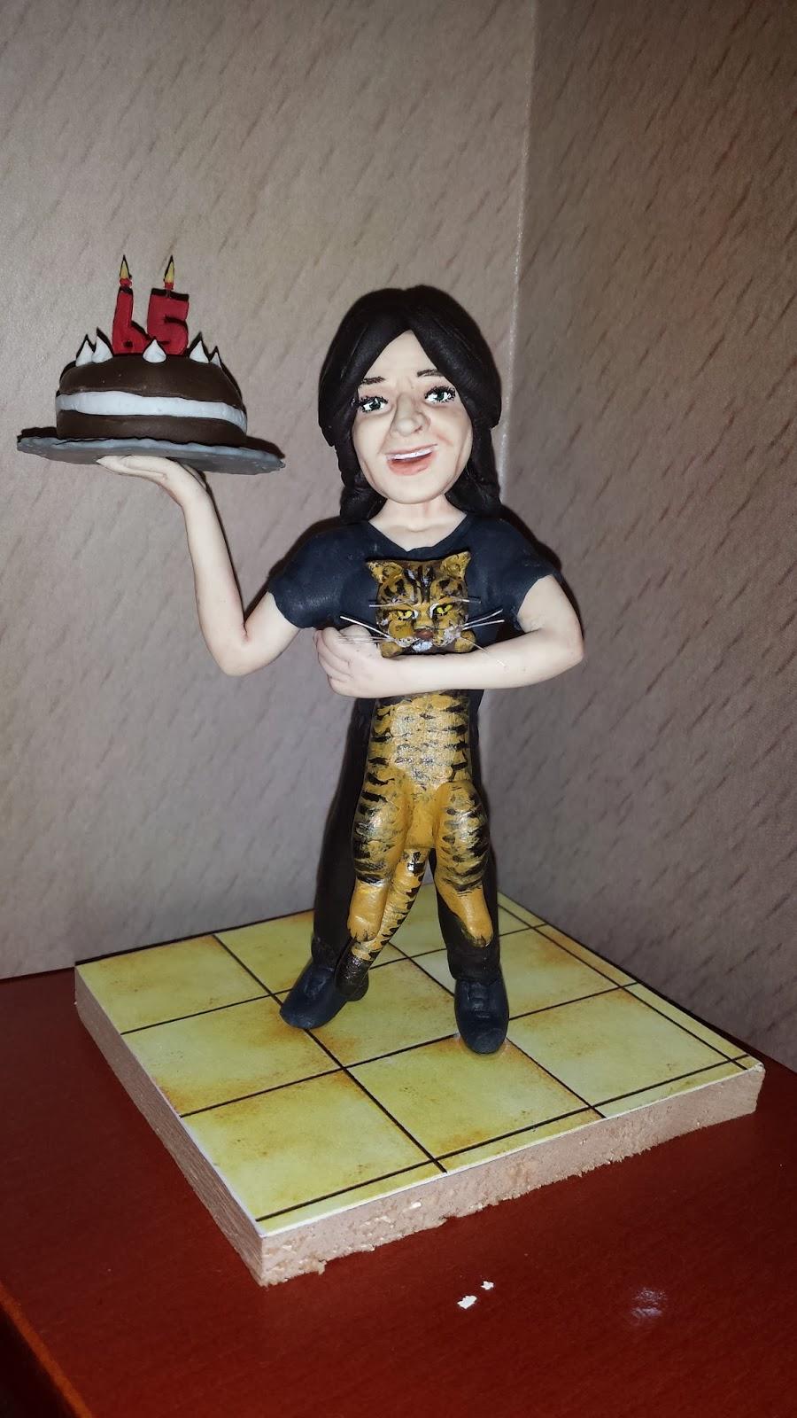Cake topper mamma 5