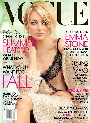 Emma Stone Vogue Magazine July 2012