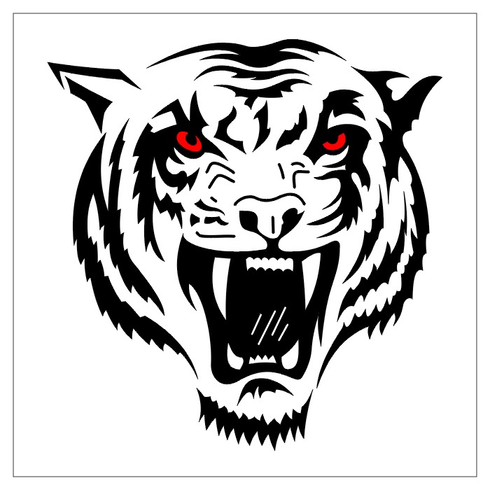 Tattoo Designs Tiger: TATTOOS: Tiger And Lion Tattoo Stencils