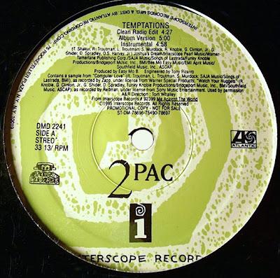 2Pac – Temptations (Promo VLS) (1995) (320 kbps)