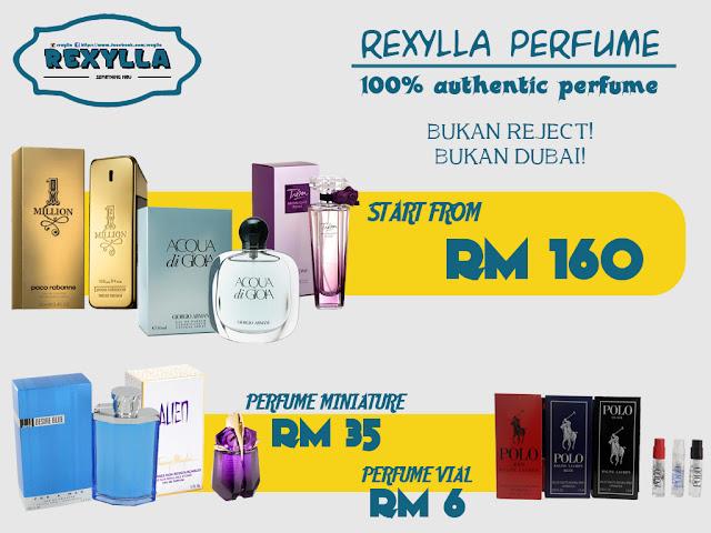 rexylla, perfume, perfume original, authentic perfume, perfume miniature, perfume tester, perfume vial