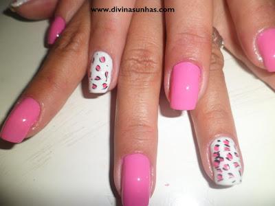 unhas decoradas outubro rosa by rafaela2
