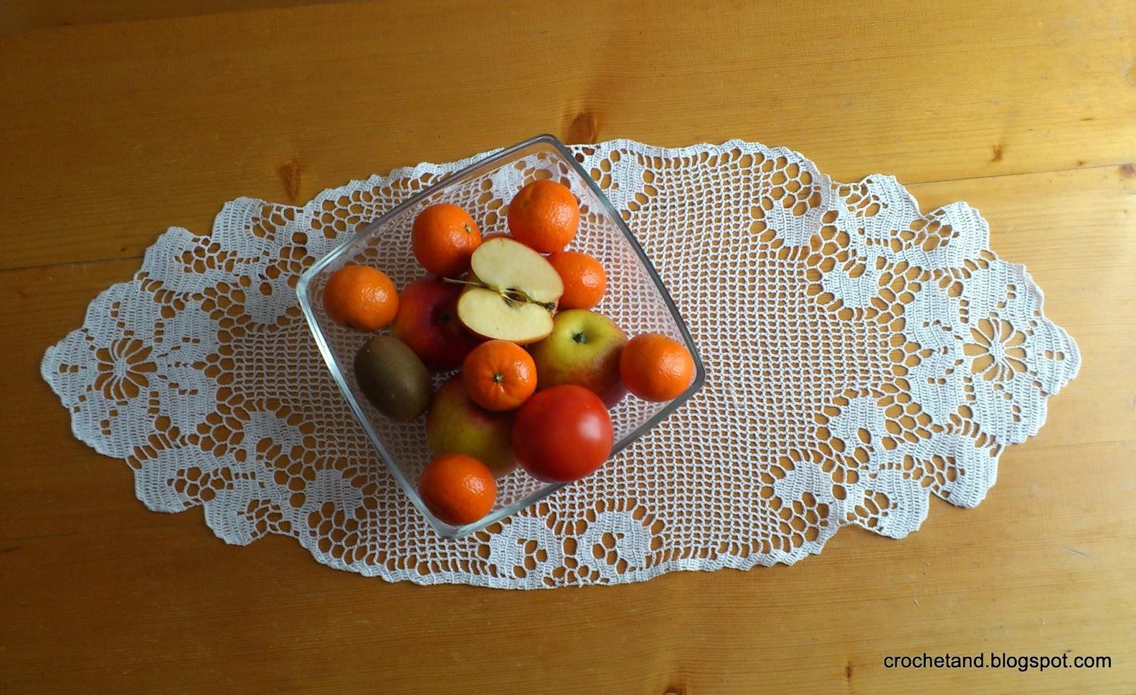 szydełkowa serwetka