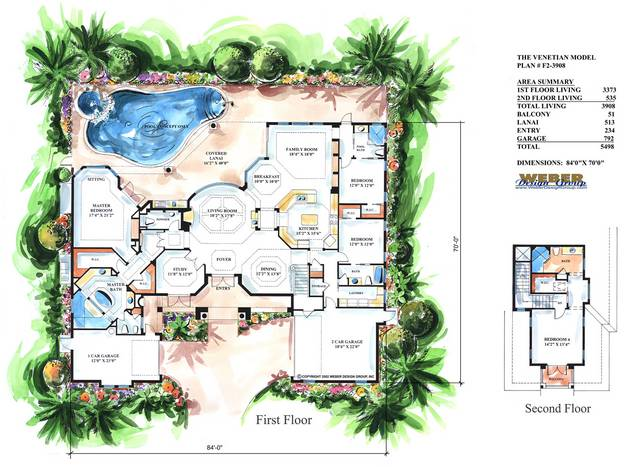 Creating luxury house plans in cheap cost ayanahouse for Luxury house plan