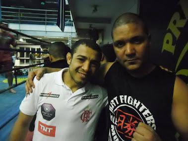 Jose Aldo e Edson Souza