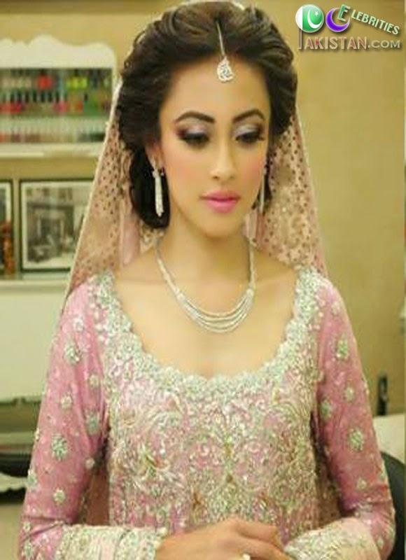 Ainy Jaffri Wedding Photoshoot