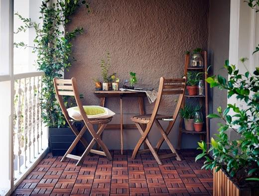 Dossier balcone come rendere accogliente uno spazio - Arredare terrazzo ikea ...