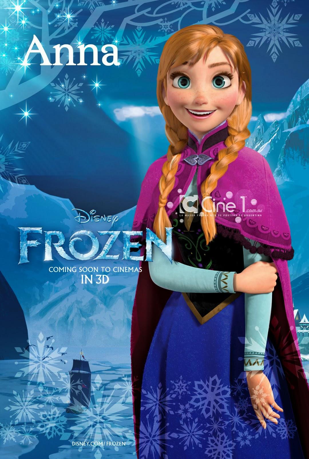 アナ一人のポスター画像のアナと雪の女王