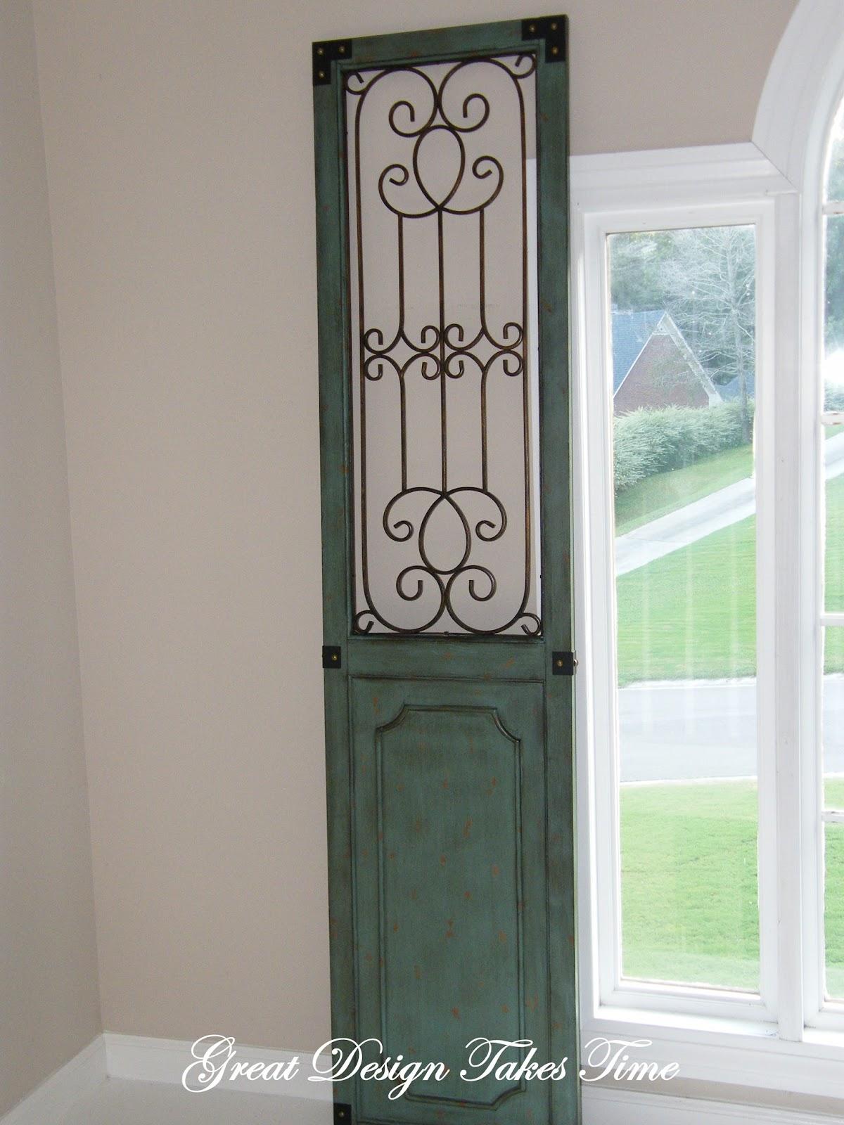 Great design takes time: foyer ledges