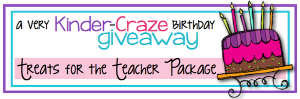 Great giveaway at Kinder-Craze