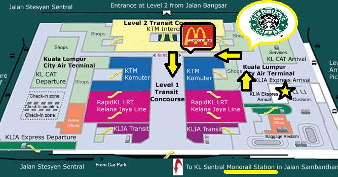 Kuala Lumpur Tourism Visit From Klia To Hotel Via Kl Sentral