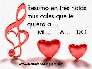 amor tres simples notas musicales