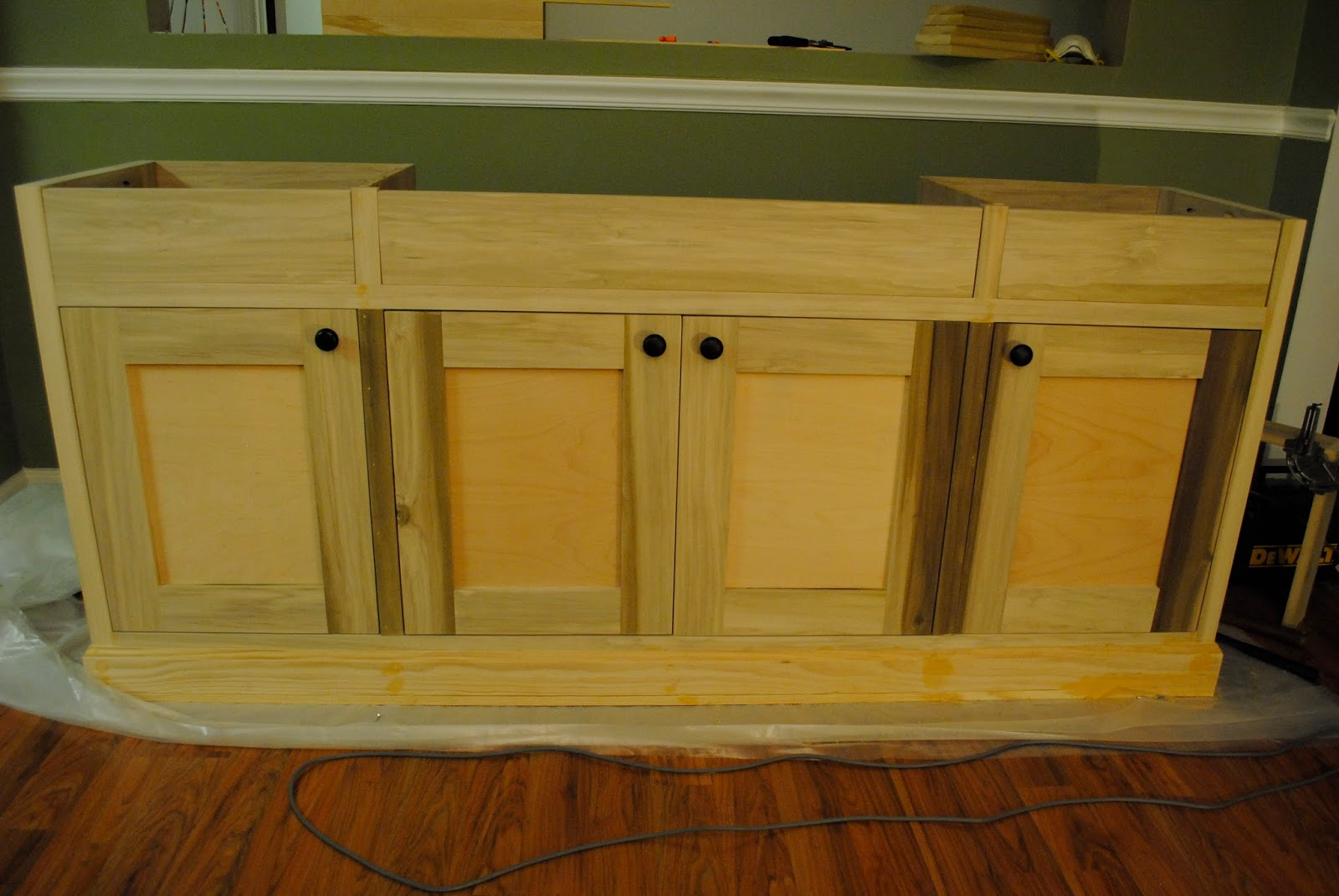 the hofreiters diy buffet sideboard update. Black Bedroom Furniture Sets. Home Design Ideas
