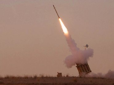 Rocket launched from Gaza #2