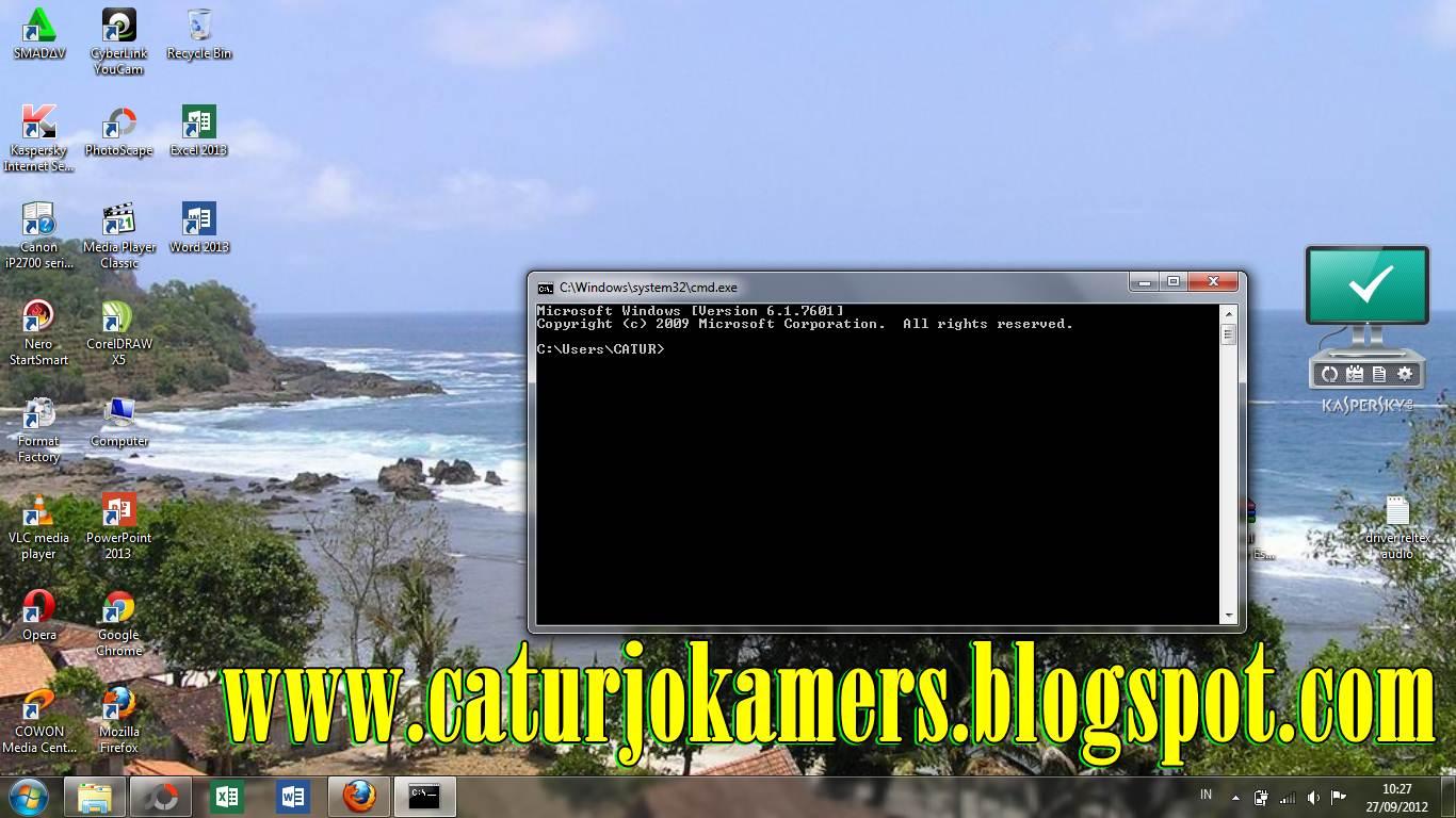 Cara hack wireless dengan cmd tricks command