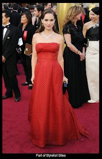 Oscars 2012 Natalie Portman in Vintage Dior