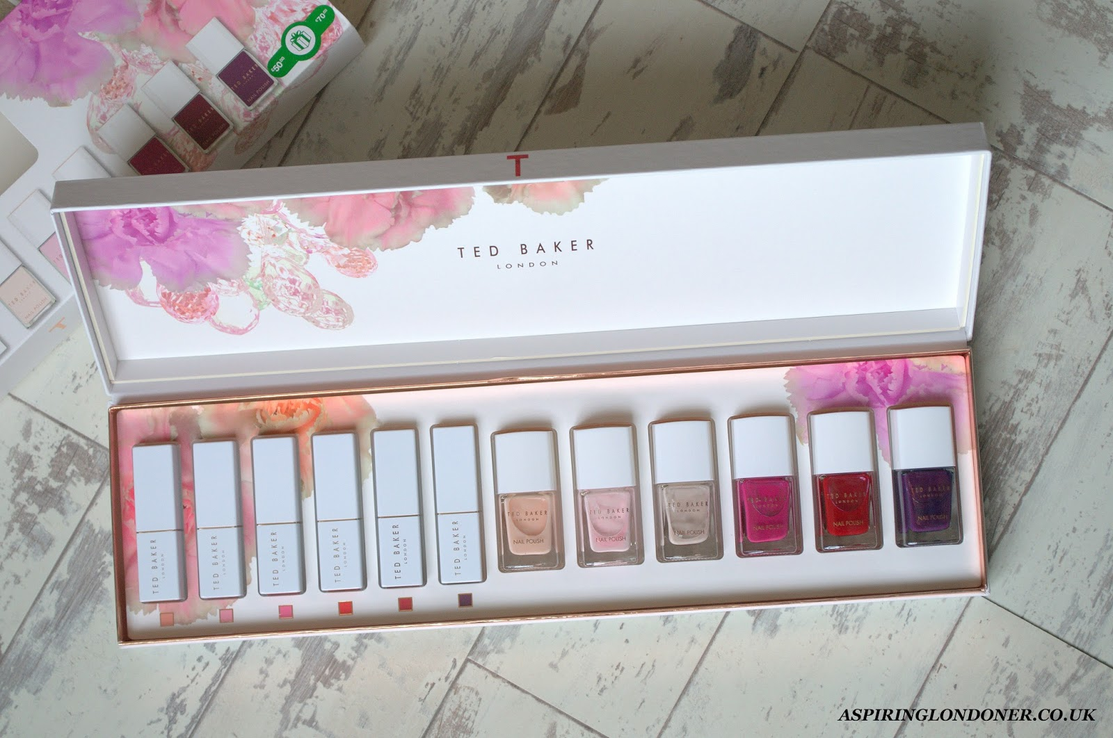 Christmas Gift Guide For Her Ted Baker Splendour Set - Aspiring Londoner