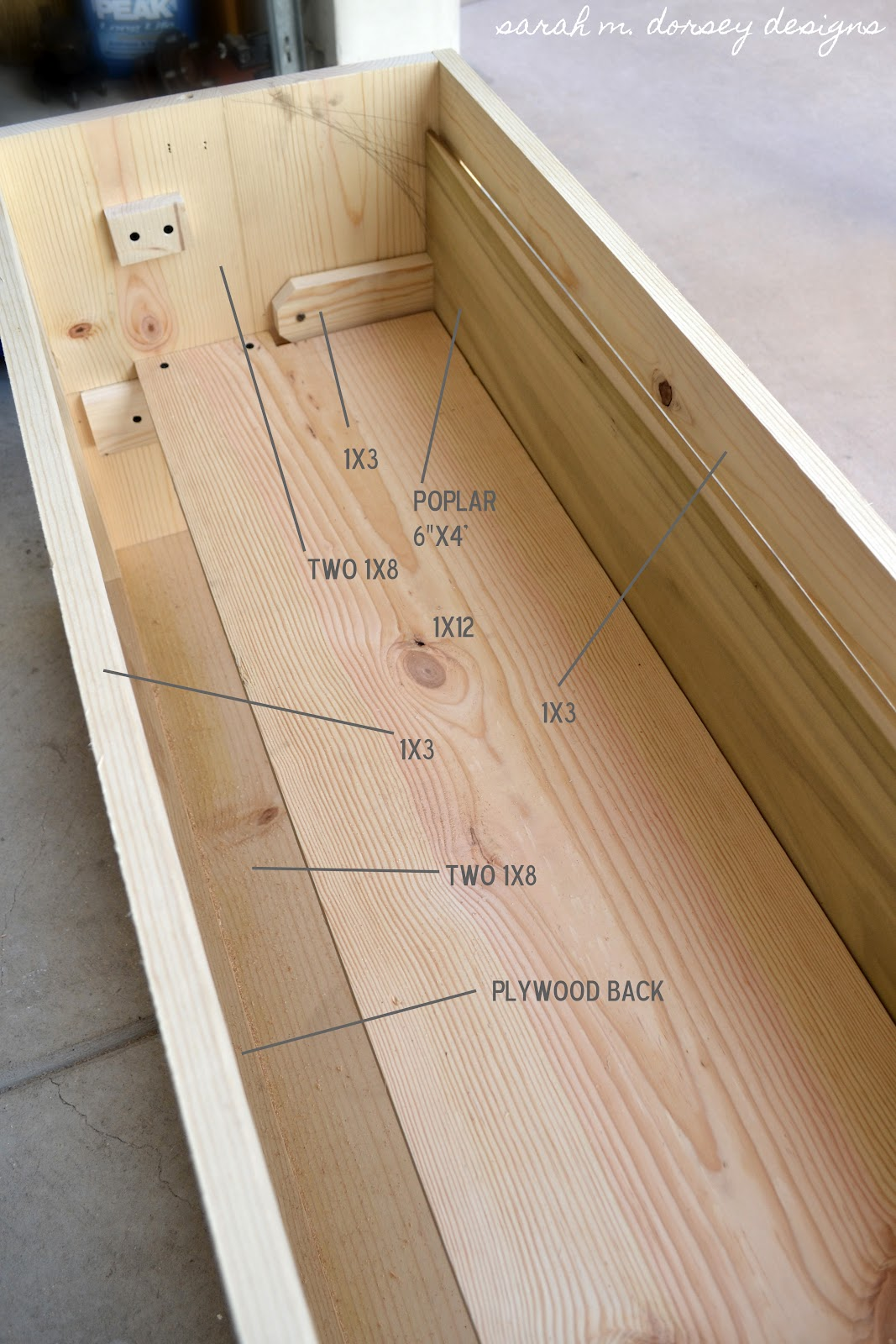 Simple Wooden Tv Stand Plans Pdf Woodworking