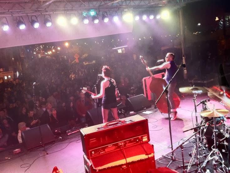 bree rocks MASSIVE crowd in Nashville!