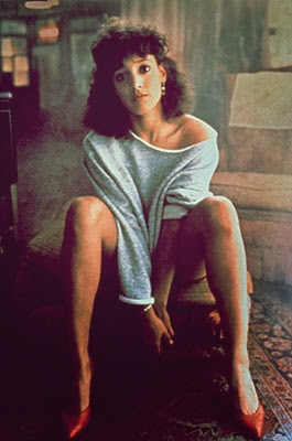 Jennifer Beals Flashdance Gray Sweater