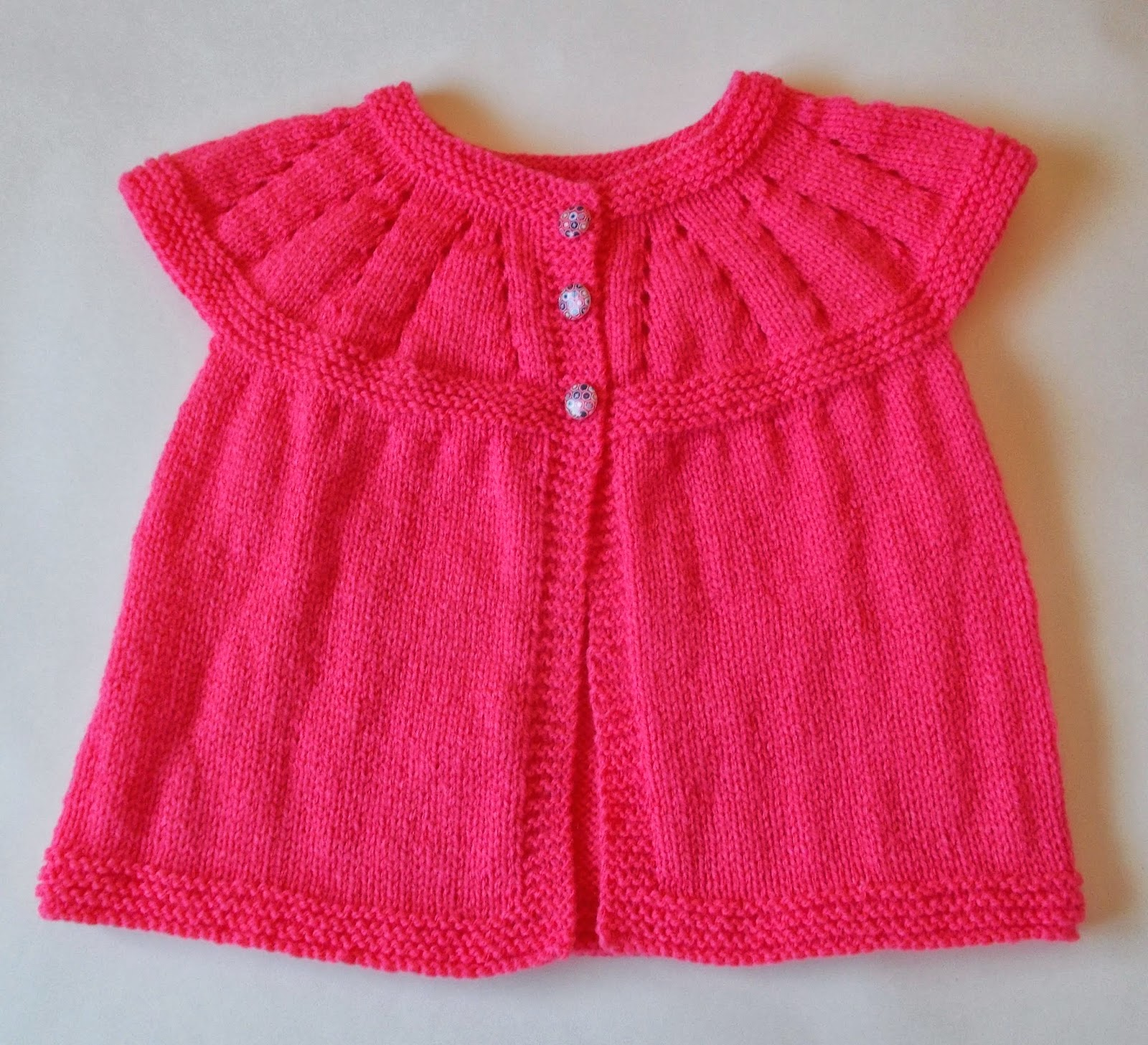 Free Knitting Patterns For Girls Jackets : mariannas lazy daisy days: Mariannas All-in-One ...