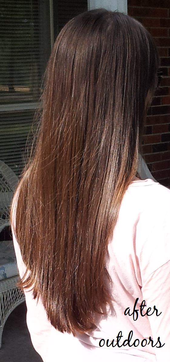Before And After Lush Henna Hair Dye Makedes Com