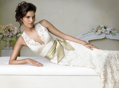 lace-charmeuse-trumpet-gown-sleeveless-v-neckline-natural-waist-taffeta-sash-sweep-train