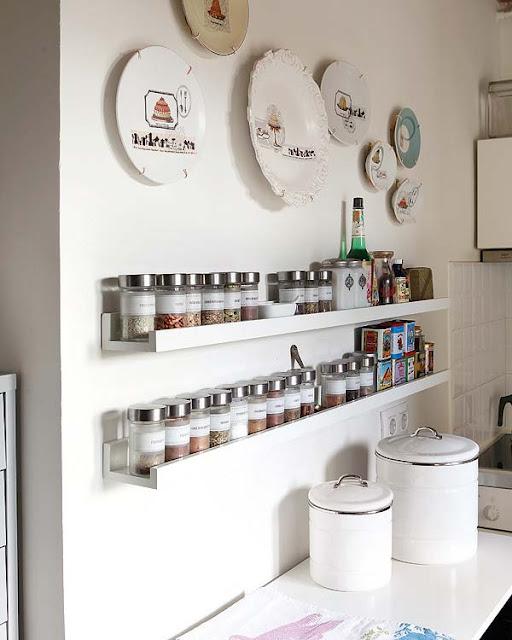 Blog de decora o arquitrecos organizando com for Estantes para cocina pequena