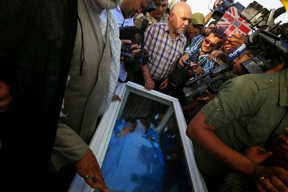 OYABANGIT: Body of Saddam Hussein's Ex-right Hand Man ...