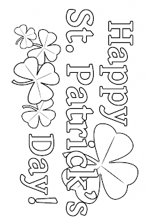 christian st patrick coloring pages - photo#20