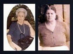 Inés Emilia Ossa Ossa 1897 - 1957 (60 años) y Ofelia Ossa Ossa 1912 - 1983 (71 años)