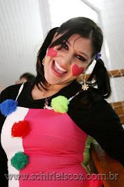 Camarim fashion, pintura facial, escultura em balões