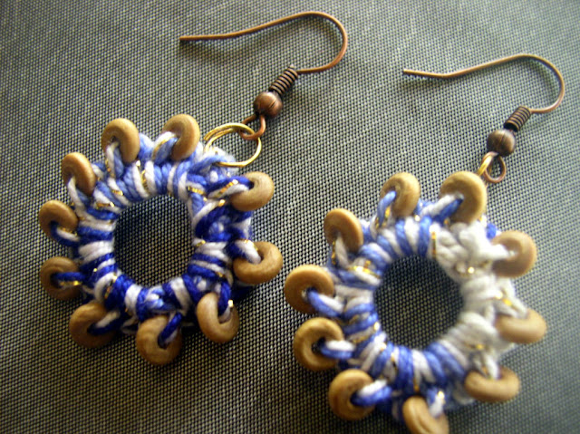 Make your own crochet earrings