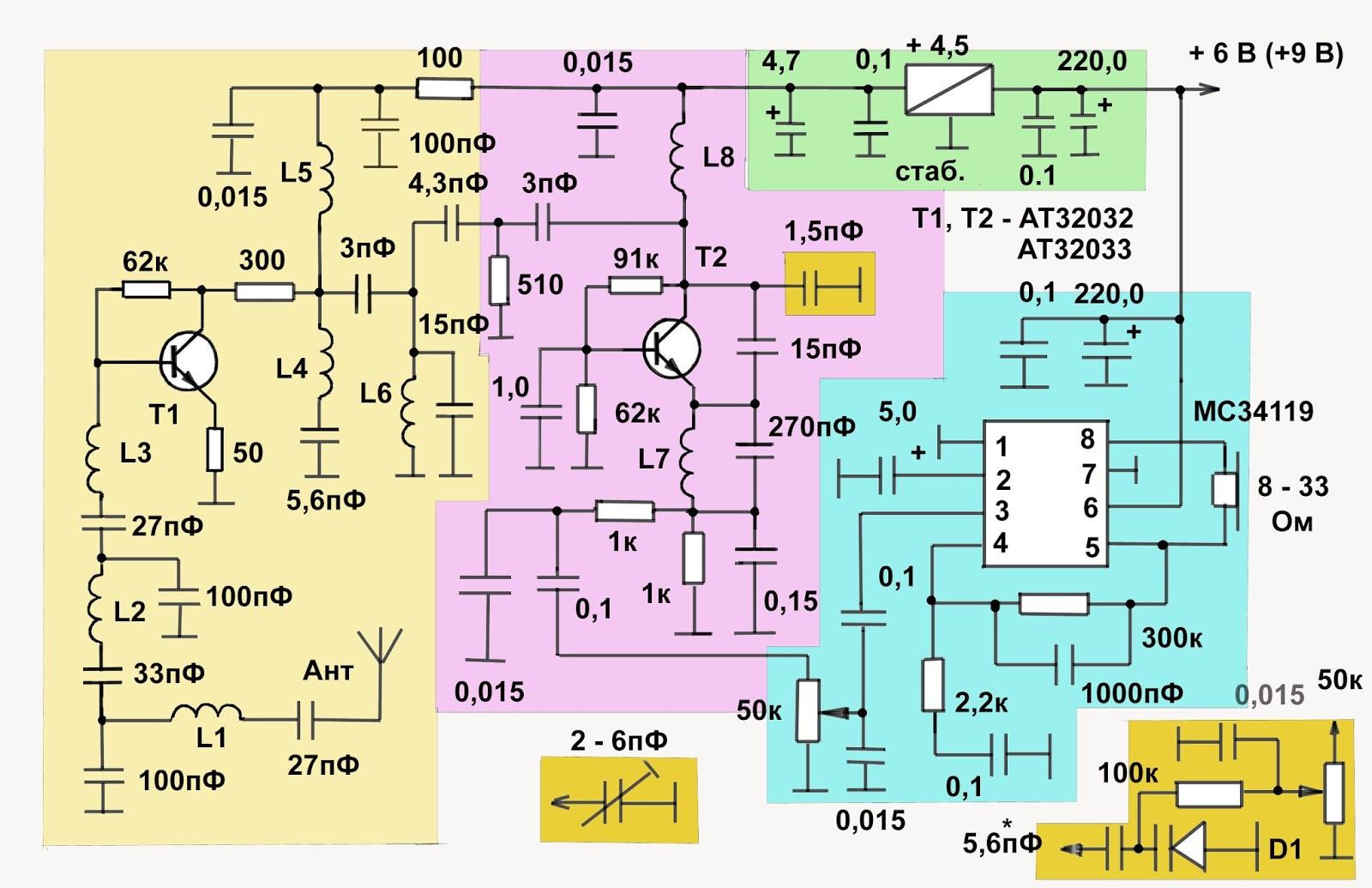 Радиоприемник на транзисторе своими руками