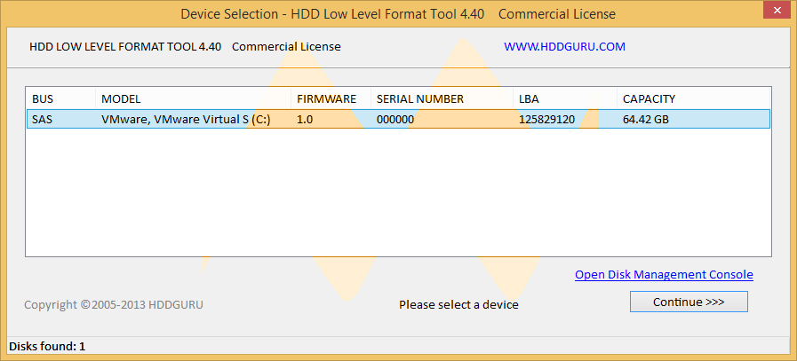 hdd low level format tool 4.30 full version