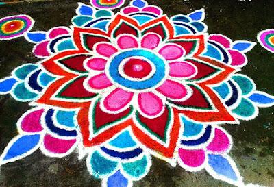 Diwali 2015 Rangoli Designs