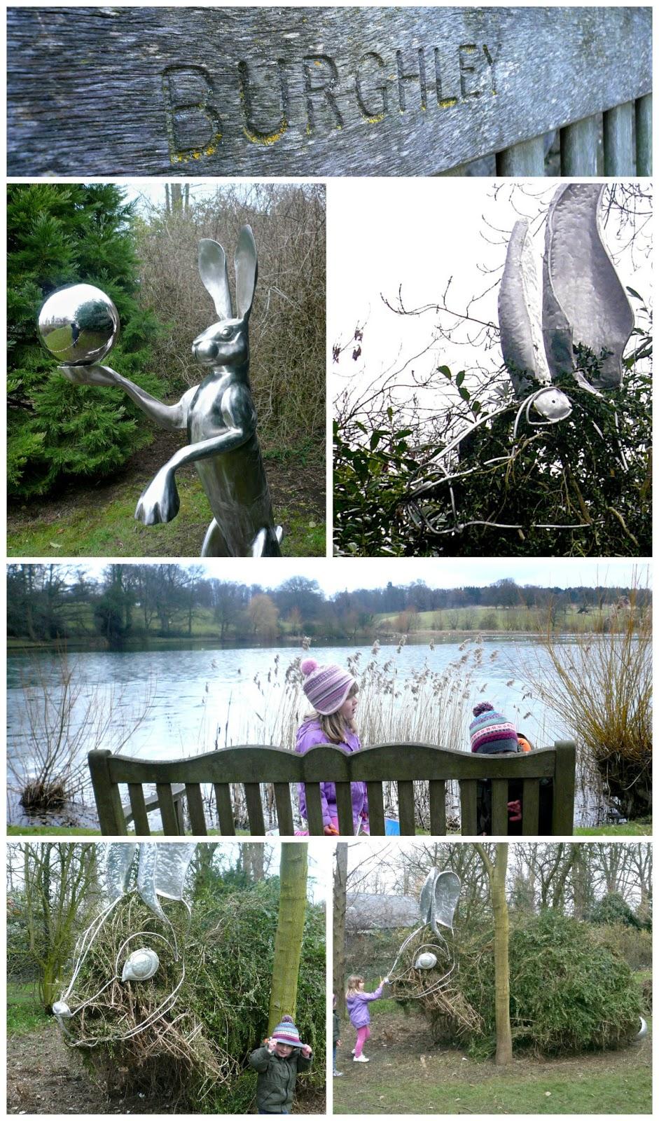 Burghley Sculpture Gardens