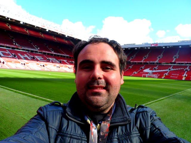 En Old Trafford, Manchester United Stadium