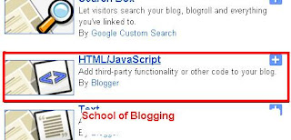 How to Add Nice Social Network/Bookmarking Sharing Widget For Blogger