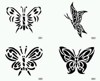 Tatoos y Tatuajes de Mariposas, parte 1