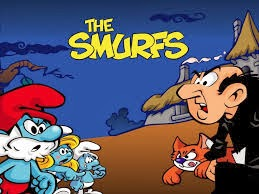 The+Smurfs+&+Co Yeni The Smurfs & Co Spellbound Mavi Mantar Hilesi