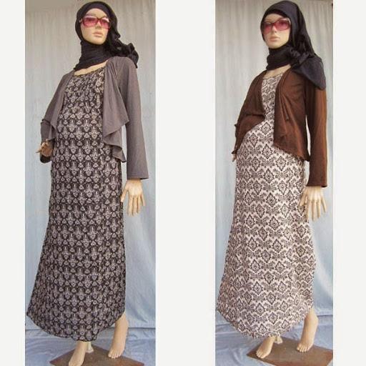Contoh Baju Hamil Pesta Batik Modern Terbaru 2016 2017