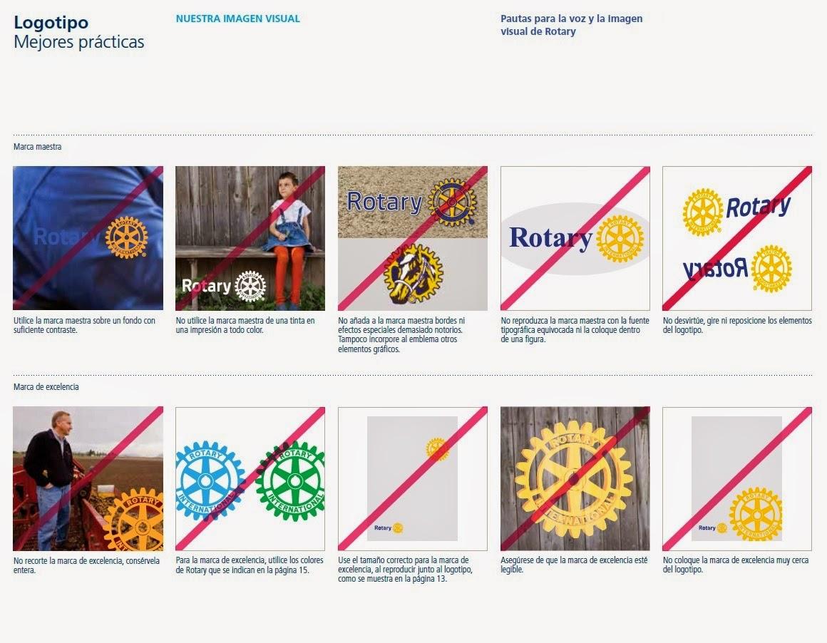 New Rotary Internaitonal branding - new Rotary Brand