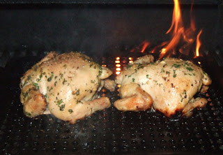 Brined & Grilled Cornish Hens with a Gralic Lemon Zest Rub - Easy Life Meal & Party Planning
