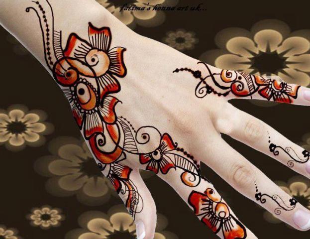 Mehndi Designs New Style : Fashion for worlds shalvar kameez kurti bridle
