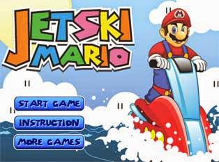 Le jeu Mario en Jetski